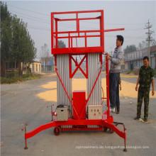 Mobil Typ Aluminiumlegierung Lift Plattform