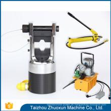 Ferramentas chinesas da imprensa do cabo do divisor da porca que frisam a máquina hidráulica do tubo
