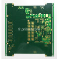 Carte de circuit imprimé d'immersion en or