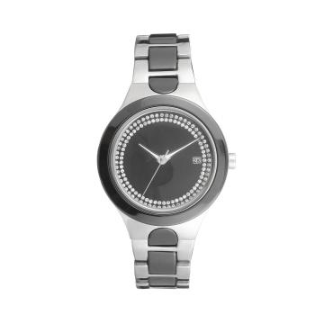 Reloj de moda de alta calidad del OEM del diseño de la promoción para la señora, prueba de agua 3ATM, movimiento de Japón