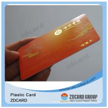 Printing on Plastic Cards/Printable Plastic PVC Cards