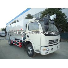 El transporte de grano a granel, camión de transporte a granel-forraje, camión de transporte de grano a granel, camión de transporte de alimentación a granel de Dongfeng,