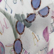 Summer Cool With Cotton Voile Printed Fabric