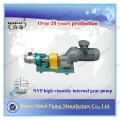 Pompe à engrenages internes à haute viscosité (NYP) de Jinhai pour bitume avec faible vibration et faible usure