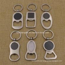 Promotion Costom Logo Metall Flaschenöffner Schlüsselanhänger