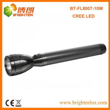 Factory Hot Sale Custom Made 3D Cell Battery Metal High Lumen Cree XML t6 L2 10W conduit Japan Flashlight