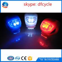 Популярные аксессуары для велосипедов дешевые силиконовые светодиодные велосипедные фонари