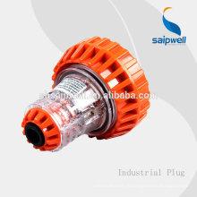 Водонепроницаемые промышленные розетки SAIP / SAIPWELL с 3 блоками Schuko, SAA, IP66, 250 В, 10 А
