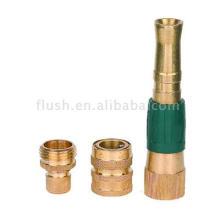 3pcs Brass Hose Basic Fitting Set