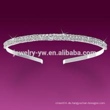 Weiße maßgeschneiderte Stirnbänder Sport Stirnbänder für Frauen