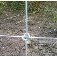 Galvanized Wire Knitted Hinge Joint Cattle Field Fence