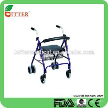 """FDA e CE roda rolante de 6 """"com assento"""