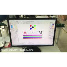 20w MOPA Fiber Laser Marking Machine with High Accuracy