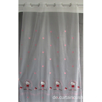 Hot Sale Fenster Stickerei Gardine