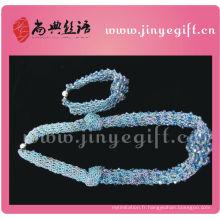 Gros bijoux enfants populaire caractère à la main pendentif chunky perle colliers pour petite fille