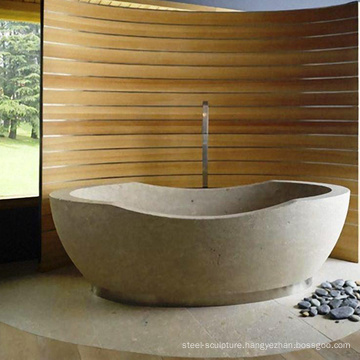 2018 new design high quality house decor natural stone tub
