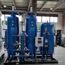 usine de gaz d'oxygène PSA industrielle de haute pureté de qualité