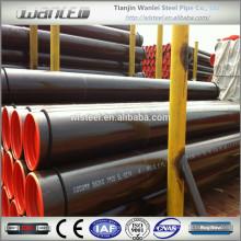ansi b36.10 astm a106 b black steel pipe