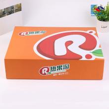 Caja de empaquetado corrugado de los niños del diseño útil de encargo a todo color