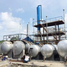 Rohölraffinerie-Destillationssystem