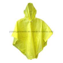100% PVC Erwachsene Regen Poncho wasserdichte Poncho Workwear Arbeitskleidung