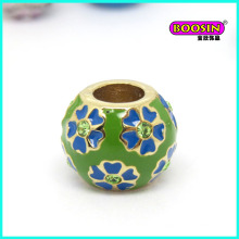 New Custom Made Wholesale Fashion Alloy Enamel Snack Bracelet Charm