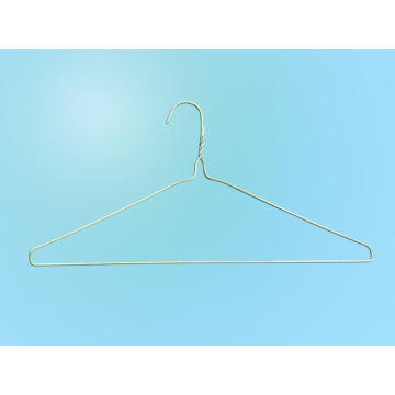 Platzsparender goldener Long Neck Industrial Hanger