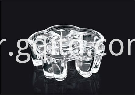 glass candy holder