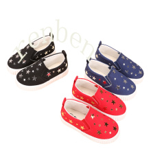 New Hot Arriving Popular Children′s Casual Canvas Shoes
