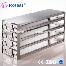 étagères de congélation cryogénique pour congélateur ultra basse température