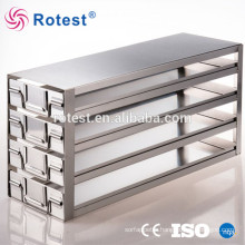 cryogenic freezer storage racks for ultra low temperature freezer