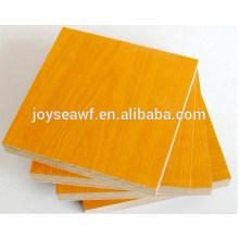 18MMX4'X8' melamine/veneer particle board/chipboard E1 glue