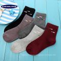 alta calidad madura compresión japón adolescente tubo de algodón de alta calidad al por mayor calcetines de las mujeres