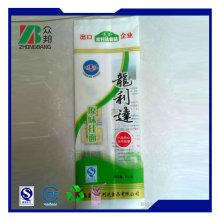 Back Sealed Plastic Packaging for Noodles