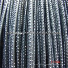 Barres en acier laminées à froid avec nervures / barres d'armature CRB-550