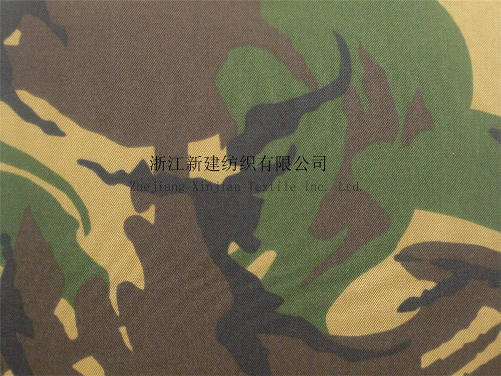CVC Anti-infrared Woodland Camouflage Fabric لهولندا