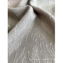 Вискоза чистого цвета жаккардовая ткань