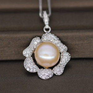Pearl Pendant Chain Necklace Jewelry Designs