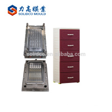 China multiple styles plastic injection drawer cabinet mold factory