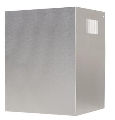 90cm Steel Curved Glass Wall Hood