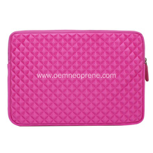 Pink custom EVA neoprene laptop bag cases