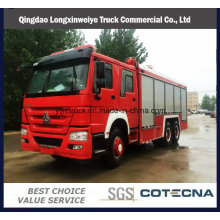 Emergency Rescue HOWO Fire Fighting Truck
