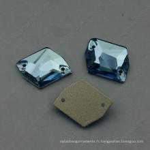 Cristal de variété coudre sur des boutons de vêtement pour des accessoires de vêtement
