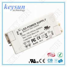 AC-DC keysun 10W 24V AC-DC Voltagem constante LED Driver, LD-VU4124-03 240VAC- 24VDC Constant Tensão led driver,