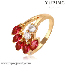 11410 Xuping Jewery 18K Gold Plated Fashion Rings With Hot sale