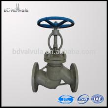 Vanne à sommet en acier moulé standard ASTM A216 WCB PN16