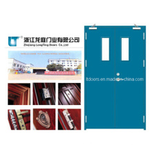 Comercial puerta incombustible de acero usada