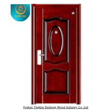 Puerta de acero de diseño popular 2015, puerta exterior