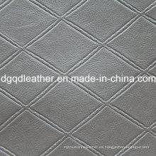 Moda acolchado decoración muebles de cuero (QDL-51377)