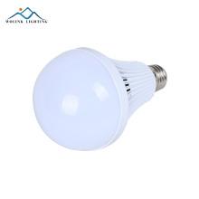Luz de emergência recarregável branca do bulbo de 3w 5w 7w 9w 12w do filamento do alumínio E27 B22